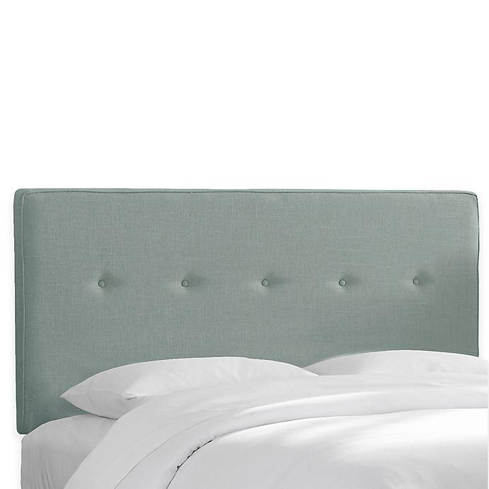 Alternate image 1 for Skyline Furniture Ashland Full Headboard in Linen Seaglass