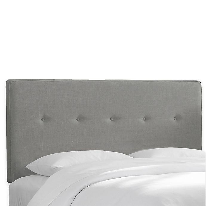 Alternate image 1 for Skyline Furniture Ashland Queen Headboard in Linen Grey