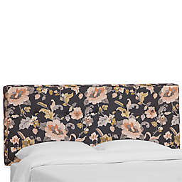Skyline Furniture Ashland Headboard with Cotton Pattern Upholstery