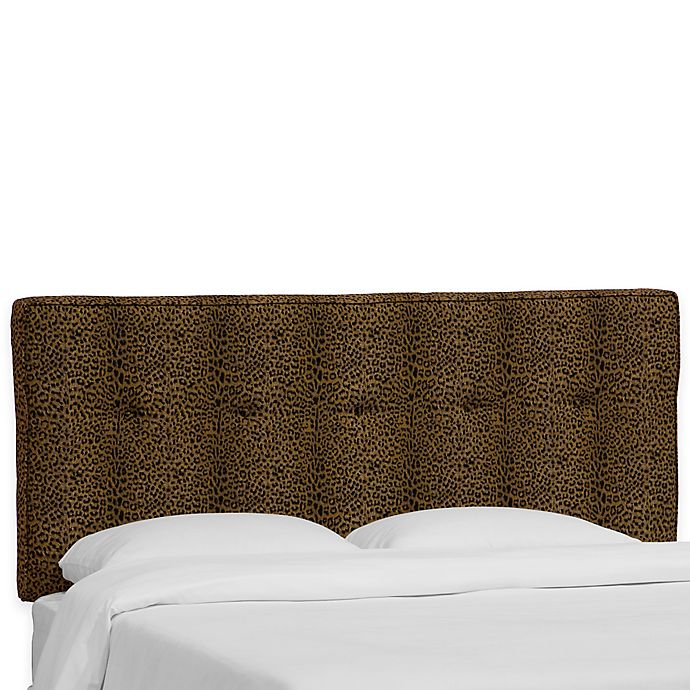 Alternate image 1 for Skyline Furniture Ashland Queen Headboard in Cheetah Earth