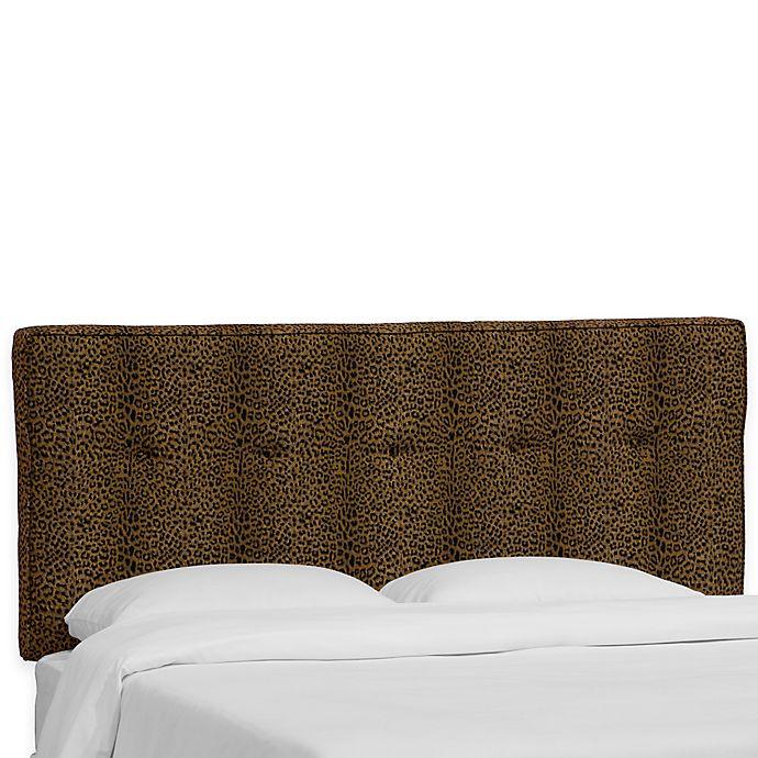Alternate image 1 for Skyline Furniture Ashland King Headboard in Cheetah Earth