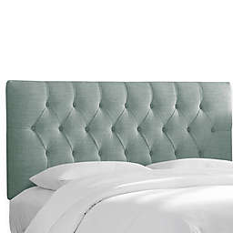 Skyline Furniture Bishop Headboard with Linen Blend Upholstery