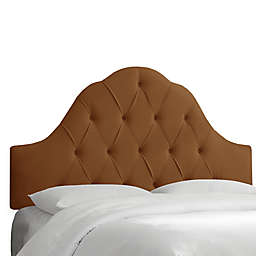 Skyline Furniture Dearborn Full Headboard in Premier Chocolate