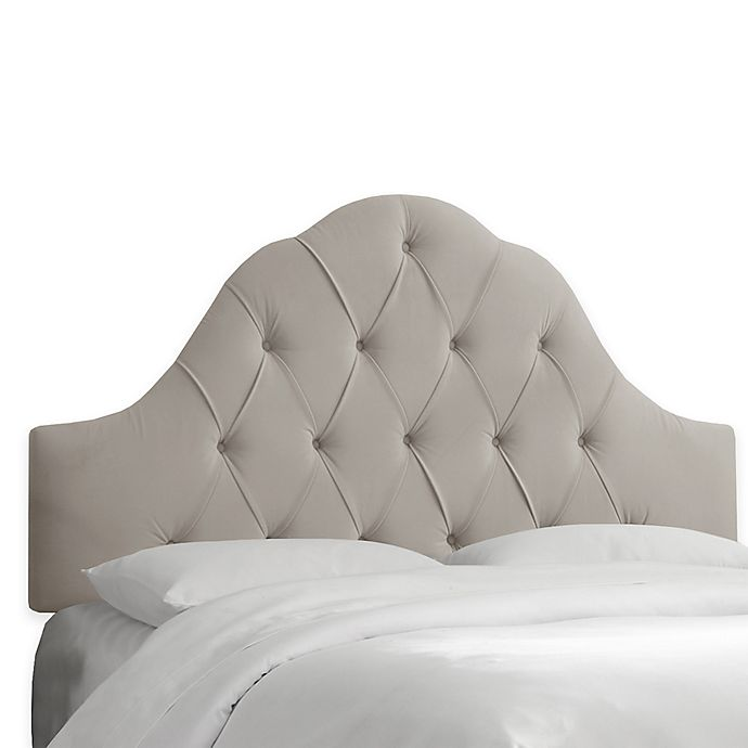 Alternate image 1 for Skyline Furniture Dearborn Queen Headboard in Premier Platinum