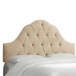 Skyline Furniture Dearborn King Headboard in Premier Oatmeal