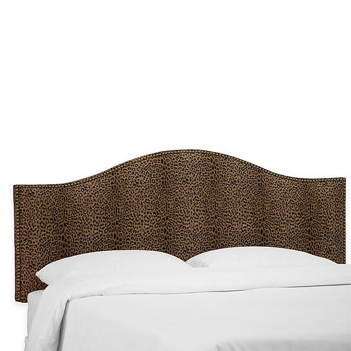 Alternate image 1 for Skyline Furniture Hinsdale Queen Headboard in Cheetah Earth