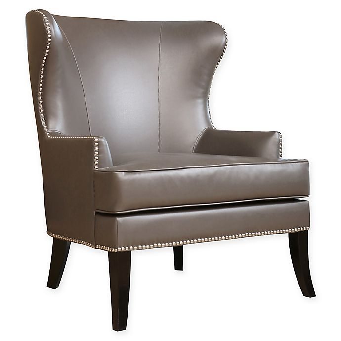 Alternate image 1 for Abbyson Living® Vienna Arm Chair in Grey