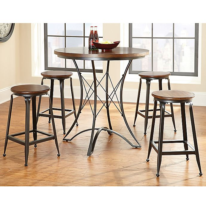 Alternate image 1 for Steve Silver Co. Adele 5-Piece Counter Height Dining Set