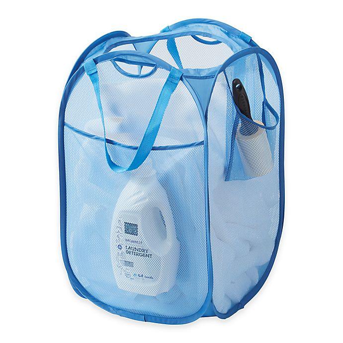 Alternate image 1 for SALT™ Pop-Up Mesh Laundry Hamper