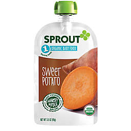 Sprout® 3.5 oz. Stage 1 Sweet Potato Organic Baby Food