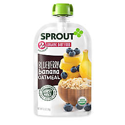 Sprout® 3.5 oz. Stage 2 Blueberry Banana Oatmeal Organic Baby Food