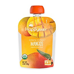 Happy Baby™ Clearly Crafted Stage 1 Organic 4 oz. Mangos