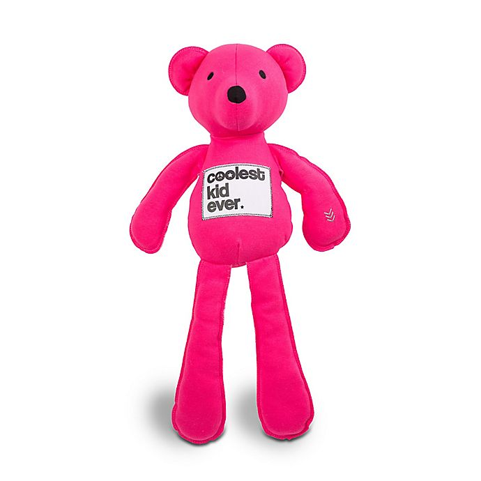 Alternate image 1 for AMY COE by North American Bear Co. 20-Inch Coco Jersey Bear in Pink