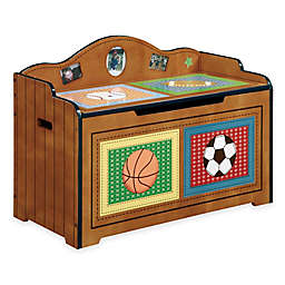 Teamson Fantasy Fields Lil' Sports Fan Toy Box