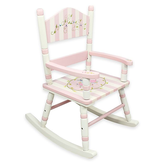 Awesome Teamson Kids Childrens Rocking Chair In Bouquet Customarchery Wood Chair Design Ideas Customarcherynet
