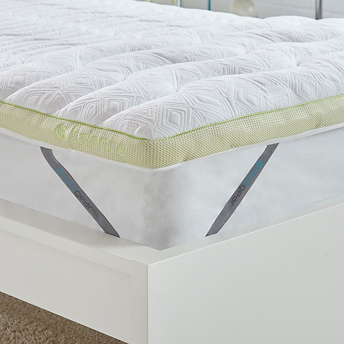 Alternate image 1 for BEDGEAR® Balance Boost® 3-Inch Mattress Topper in White