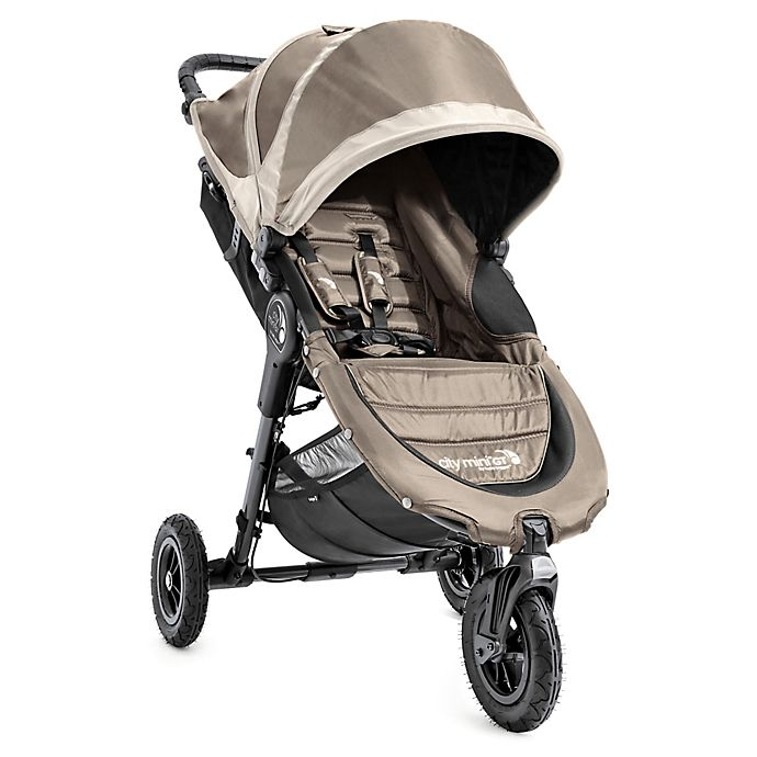 Baby Jogger City Mini GT Compact All Terrain Stroller Sand Stone  NEW