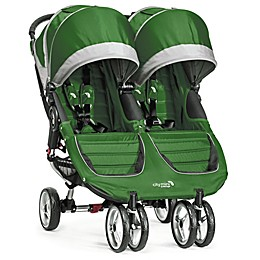 Baby Jogger® City Mini® Double Stroller in Evergreen/Grey