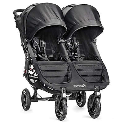 Baby Jogger® City Mini® GT Double Stroller in Black/Black