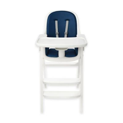 Oxo Tot 174 Sprout High Chair In Navy White Buybuy Baby