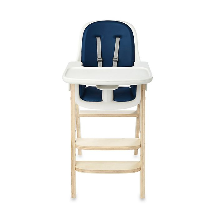 Alternate image 1 for OXO Tot® Sprout™ High Chair in Navy/Birch