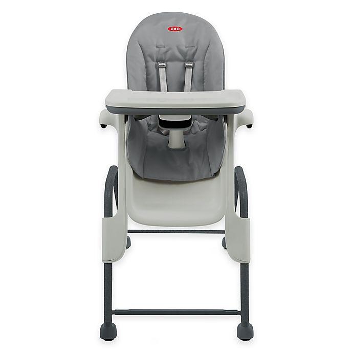 Alternate image 1 for OXO Tot® Seedling High Chair in Graphite/Dark Grey