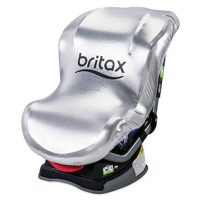 Alternate image 1 for BRITAX Car Seat Sun Shield in Silver