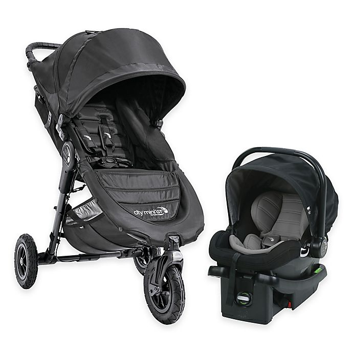 Alternate image 1 for Baby Jogger® City Mini GT Travel System