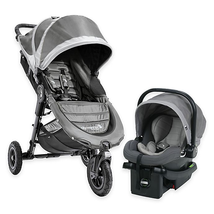 Alternate image 1 for Baby Jogger® City Mini GT Travel System in Steel Grey