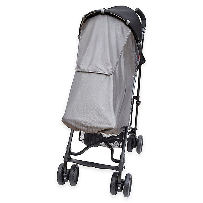 Alternate image 1 for SKIP*HOP® Stroller Sun and Sleep Shade in Silver