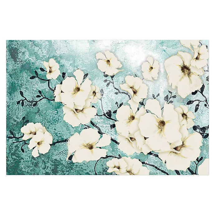Alternate image 1 for Minted Floral 48-Inch x 32-Inch Canvas Wall Art
