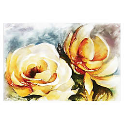 Pale Yellow Rose 36-Inch x 24-Inch Canvas Wall Art