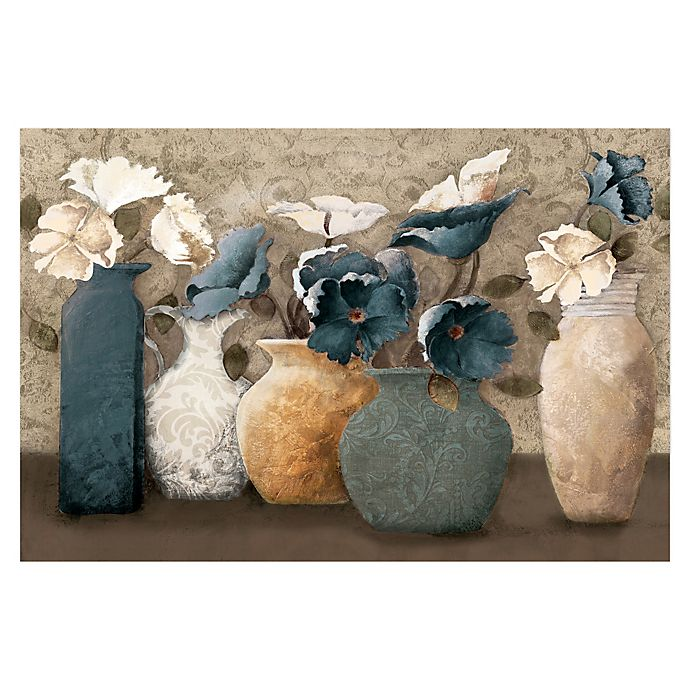 Alternate image 1 for Floral Centerpiece 36-Inch x 24-Inch Canvas Wall Art
