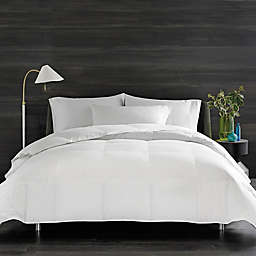 Real Simple® HomeGrown™ Solid Twin Down Alternative Comforter