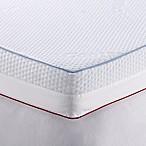 Therapedic® 4-Inch Dual Season Queen Mattress Topper in White