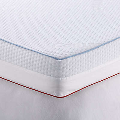 Therapedic® 4-Inch Dual Season Mattress Topper in White