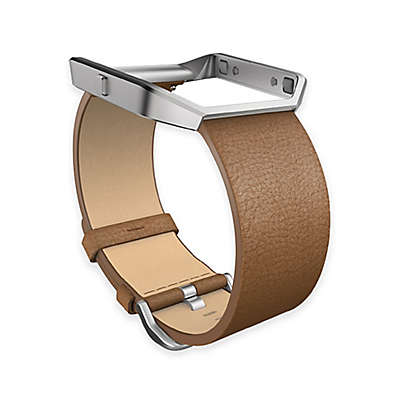 Fitbit® Blaze™ Leather Accessory Band in Camel