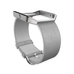 Fitbit® Blaze™ Leather Accessory Band in Grey