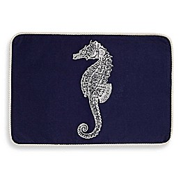 Sam Hedaya By the Bay Placemat in Navy