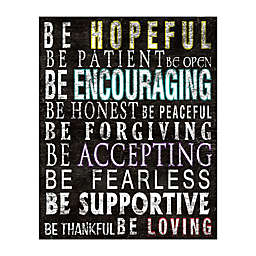 """""""Be Encouraging"""" Canvas Wall Art"""