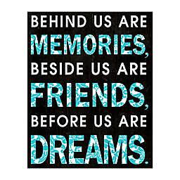 Friends Beside Us 16-Inch x 20-Inch Canvas Wall Art