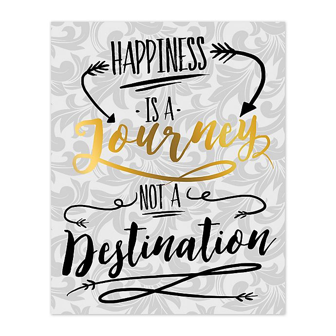 Alternate image 1 for Journey To Happiness Canvas Wall Art