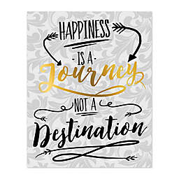 Journey To Happiness Canvas Wall Art