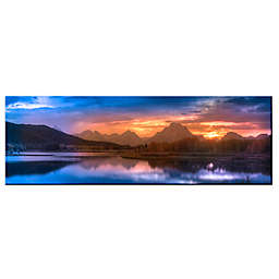 Colossal Images Snake River 58-Inch x 18-Inch Photographic Canvas Wall Art