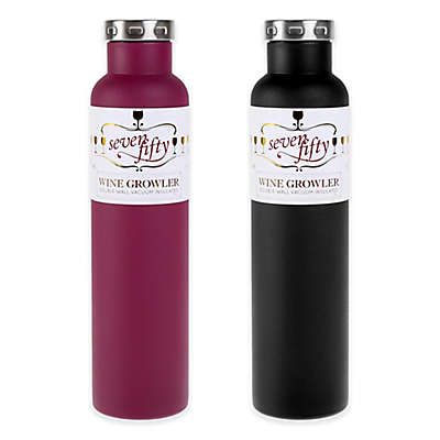 FIFTY/FIFTY Double-Wall Vacuum Insulated Wine Growler
