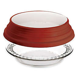 Anchor Hocking® 9.5-Inch Deep Dish Pie Plate with Expandable Cover