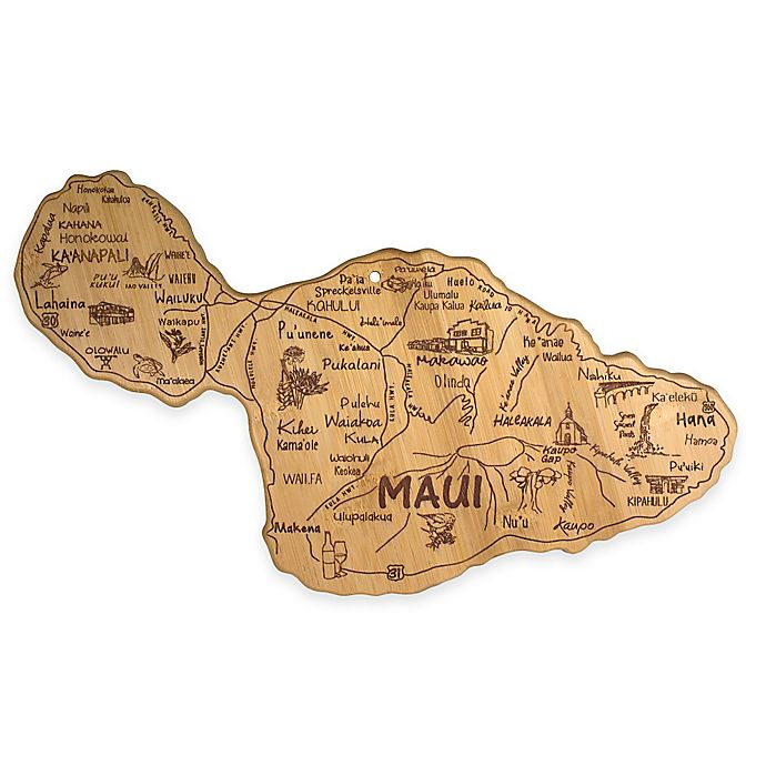 Alternate image 1 for Totally Bamboo Destination Maui Cutting/Serving Board