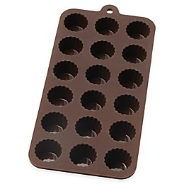 Mrs. Anderson's Baking® Nonstick 10-Inch x 4.12-Inch Silicone Cordial Chocolate Mold in Brown