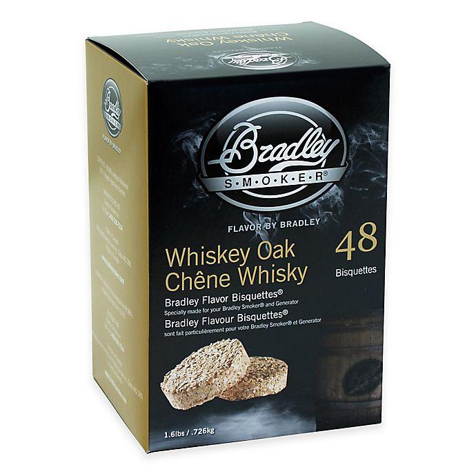 Alternate image 1 for Bradley Smoker® 48-Count Whiskey Oak Bradley Flavor Bisquettes®