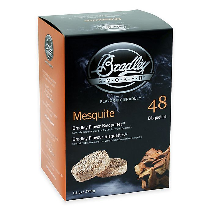 Alternate image 1 for Bradley Smoker® 48-Count Mesquite Bradley Flavor Bisquettes®